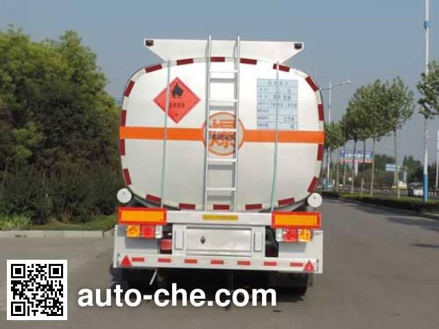 Shuangda ZLQ9406GRY flammable liquid tank trailer