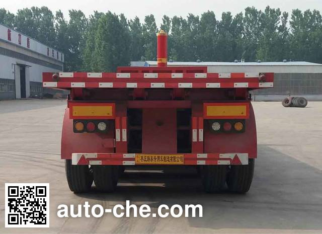 Yizhou ZLT9400ZZXP flatbed dump trailer