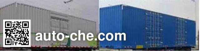 Yizhou ZLT9401XXY box body van trailer