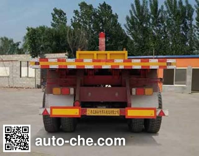 Yizhou ZLT9401ZZXP flatbed dump trailer