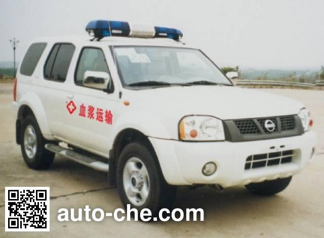 Nissan ZN5022XXJW1G blood plasma transport medical car