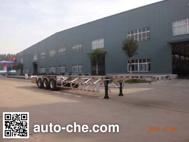 Minghang ZPS9401TJZ aluminium container trailer