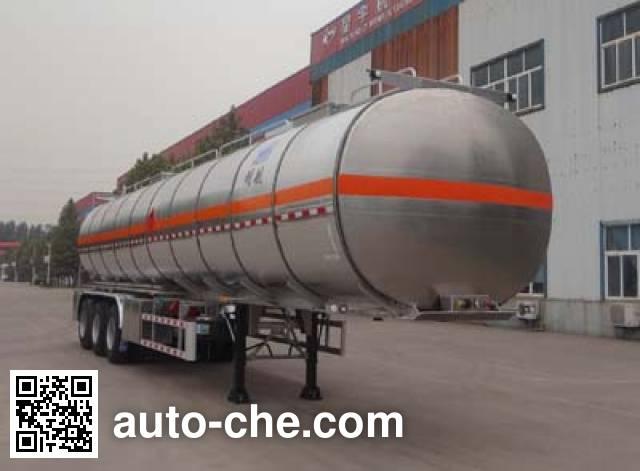 Minghang ZPS9403GRY flammable liquid aluminum tank trailer