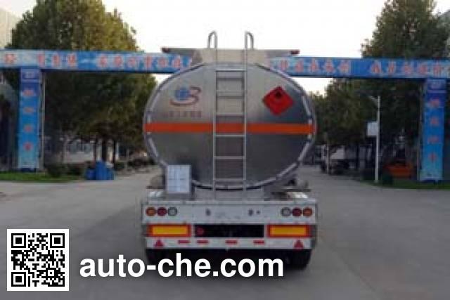 Minghang ZPS9408GRY полуприцеп цистерна алюминиевая для легковоспламеняющихся жидкостей