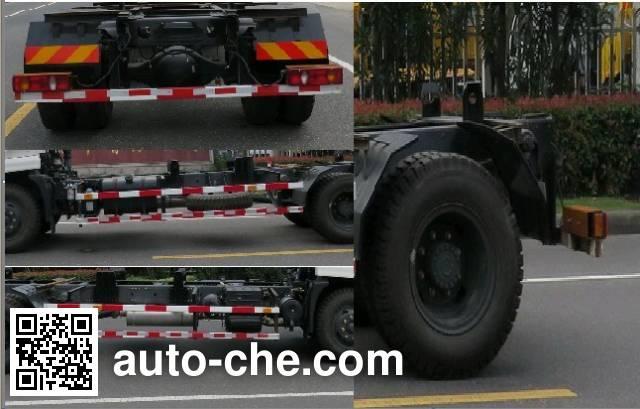 Changqi ZQS5120ZXX detachable body garbage truck
