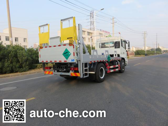 Changqi ZQS5160TQP gas cylinder transport truck