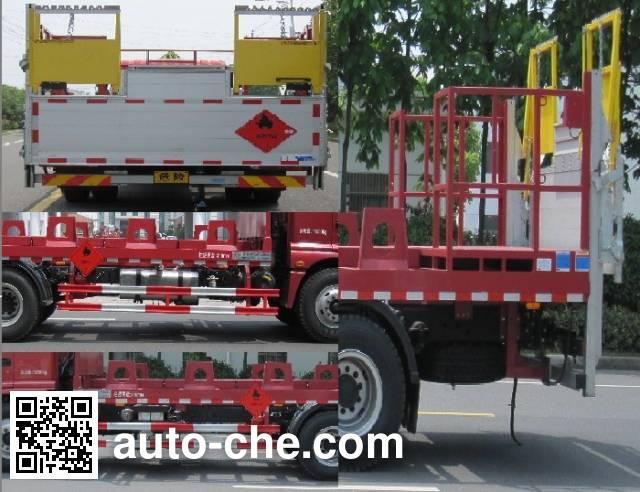 Changqi ZQS5161TQPB5 gas cylinder transport truck