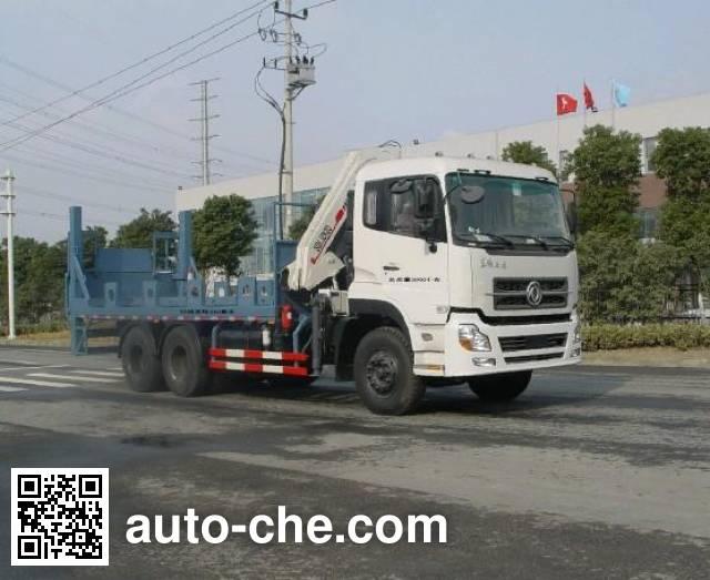 Changqi ZQS5250JSQDF truck mounted loader crane