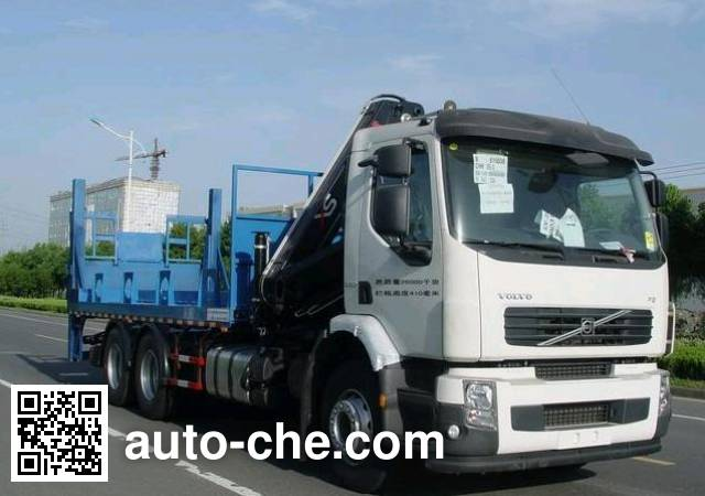 Changqi ZQS5260JSQ truck mounted loader crane