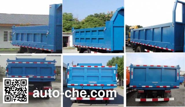 Zhongqi ZQZ3100Q4L dump truck
