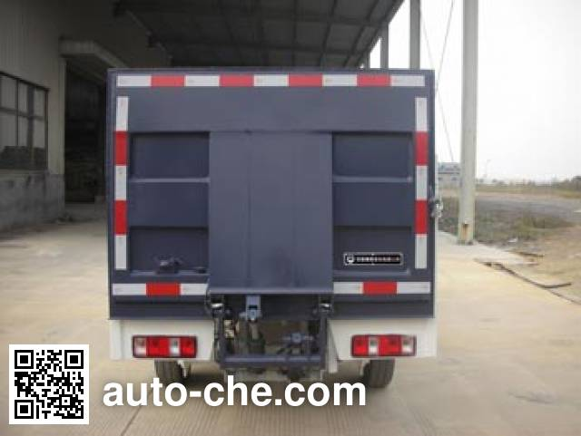 Zhongqi ZQZ5021CTY trash containers transport truck