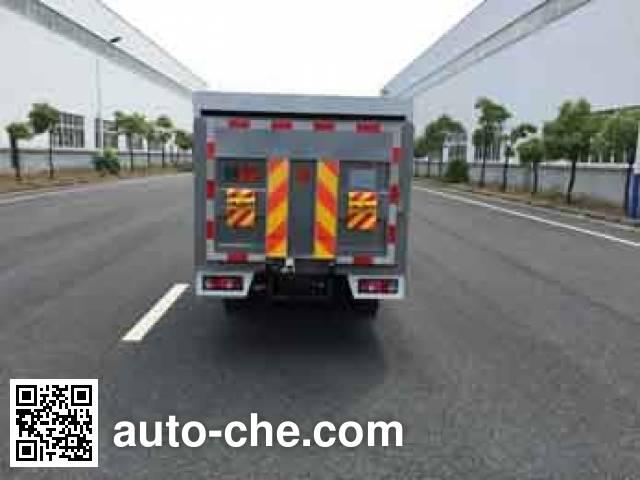 Zhongqi ZQZ5021XTYSC5 sealed garbage container truck