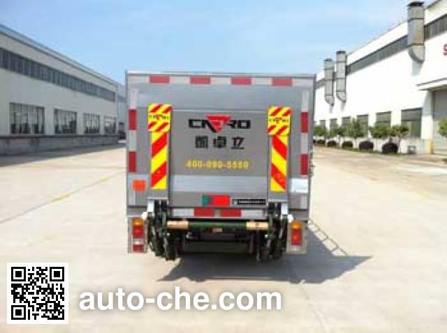 Zhongqi ZQZ5030CTY trash containers transport truck