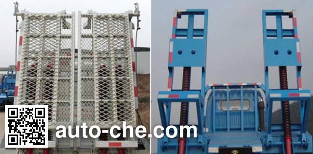 Zhongqi ZQZ5162TPB flatbed truck