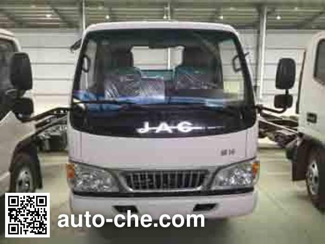 Zhongqi ZQZ5070ZXX detachable body garbage truck