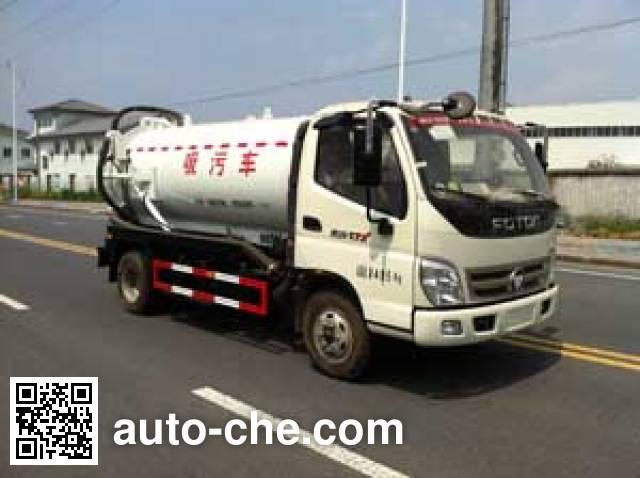 Zhongqi ZQZ5080GXW sewage suction truck