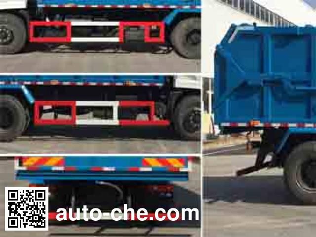 Zhongqi ZQZ5161ZDJD5 docking garbage compactor truck