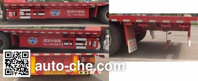 田宇兴牌ZRT9400TDP低平板半挂车