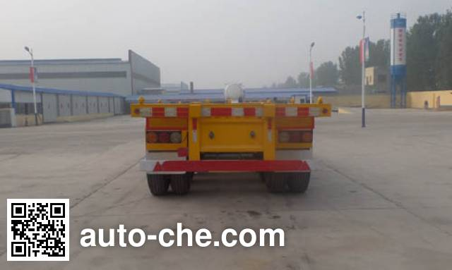 Tianyuxing ZRT9400TJZ container transport trailer