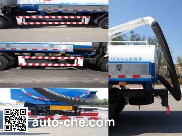 Zhangtuo ZTC5090GXE suction truck