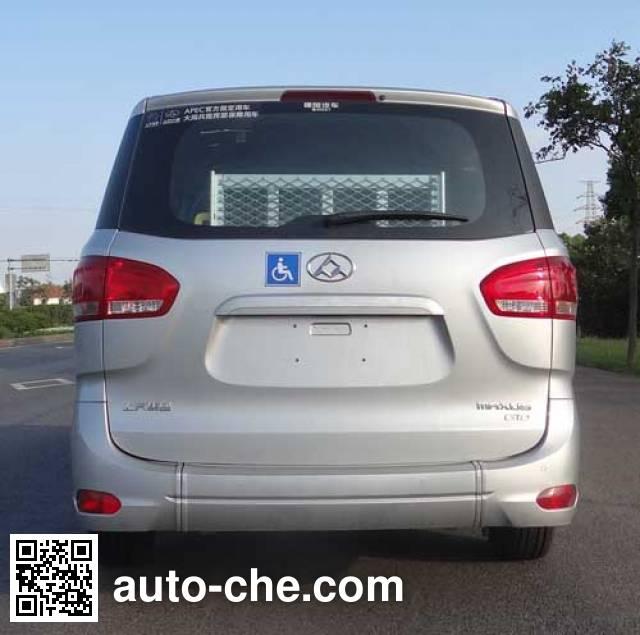 Zhongtian ZTP5030XFZ welcab (wheelchair access vehicle)