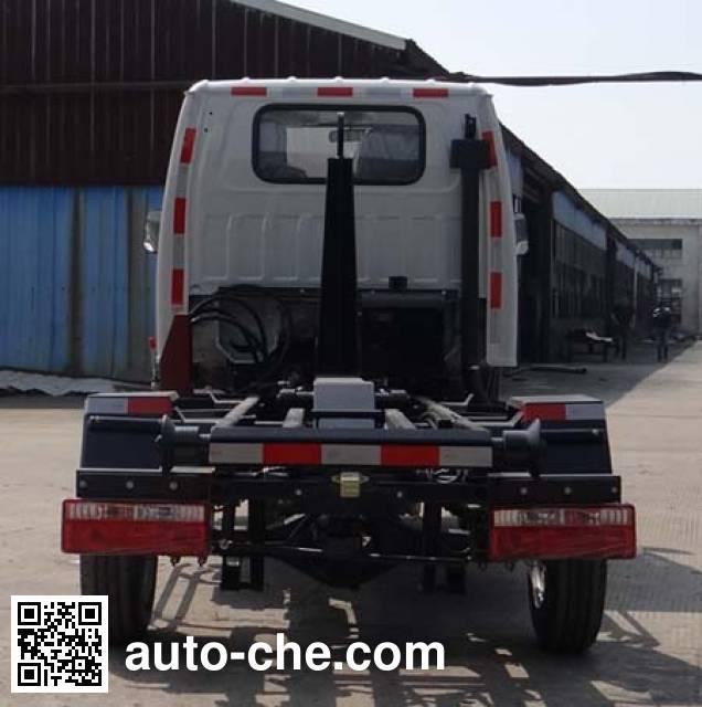 Zhongtian ZTP5030ZXX detachable body garbage truck