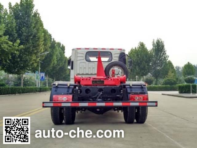 Dongyue ZTQ5040ZXXBJF35DL detachable body garbage truck