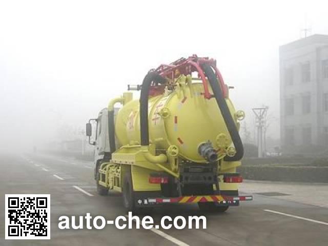 Dongyue ZTQ5160GXWZ sewage suction truck