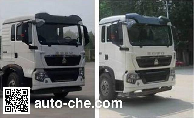 东岳牌ZTQ5250GJBZ7M32D混凝土搅拌运输车