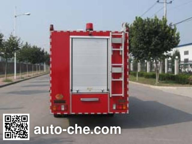 中卓时代牌ZXF5050TXFJY43抢险救援消防车