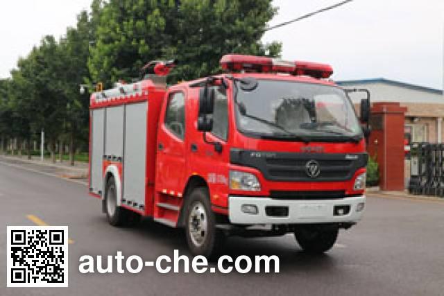 中卓时代牌ZXF5110GXFPM35泡沫消防车