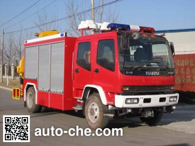 中卓时代牌ZXF5120TXFJY100抢险救援消防车