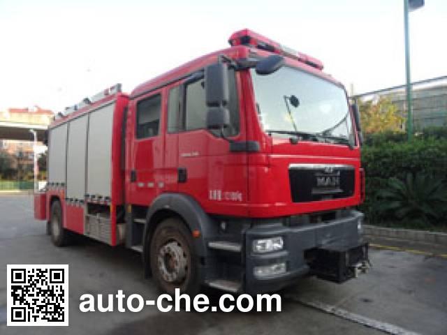 中卓时代牌ZXF5120TXFJY100/M抢险救援消防车