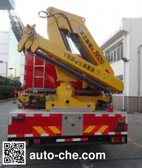 中卓时代牌ZXF5121TXFJY100抢险救援消防车