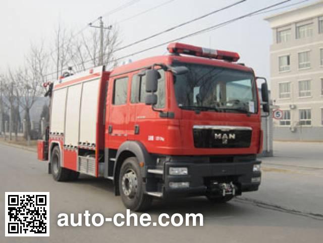 中卓时代牌ZXF5130TXFJY100抢险救援消防车