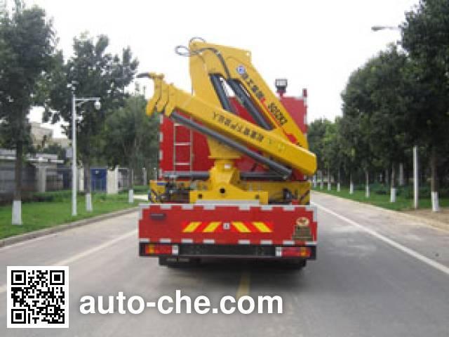 中卓时代牌ZXF5140TXFJY100抢险救援消防车