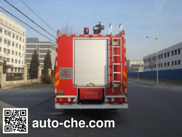 中卓时代牌ZXF5400GXFPM210泡沫消防车