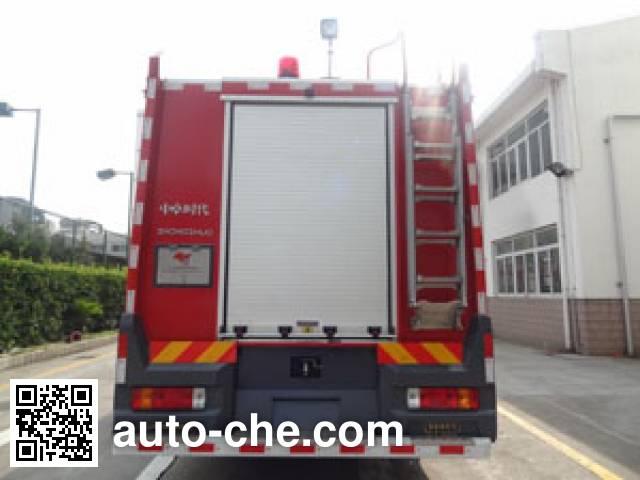 中卓时代牌ZXF5400GXFPM210/Y泡沫消防车