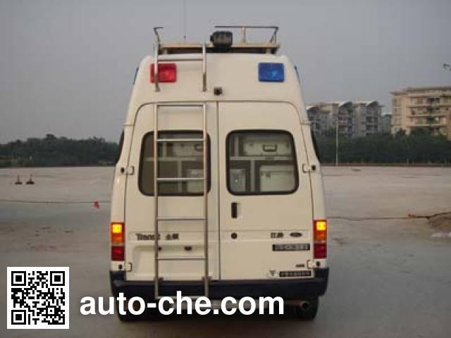中警牌ZY5045XZH通讯指挥车