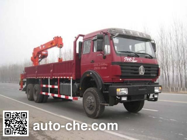 CNPC ZYT5253JSQ truck mounted loader crane