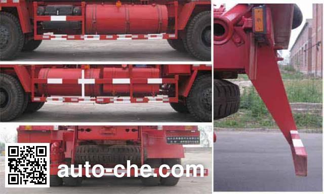 CNPC ZYT5350TYL fracturing truck