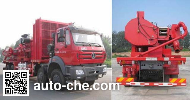 CNPC ZYT5350TYL4 fracturing truck