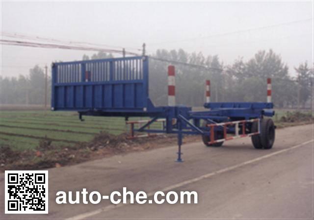 CNPC ZYT9130TYA timber/pipe transport trailer