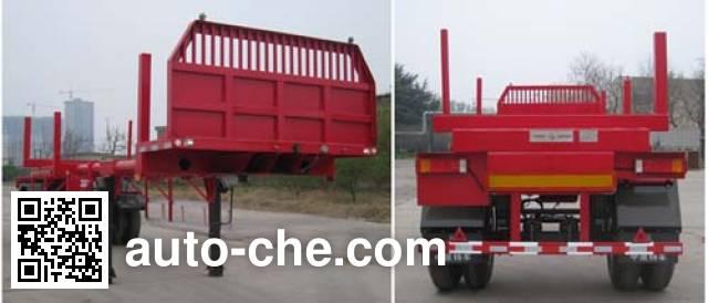 CNPC ZYT9150TYA timber/pipe transport trailer
