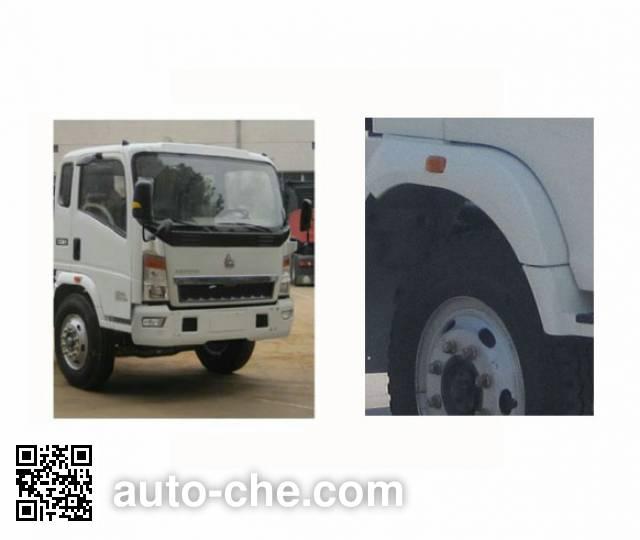 Sinotruk Howo ZZ5107CPYG3815D1 soft top box van truck