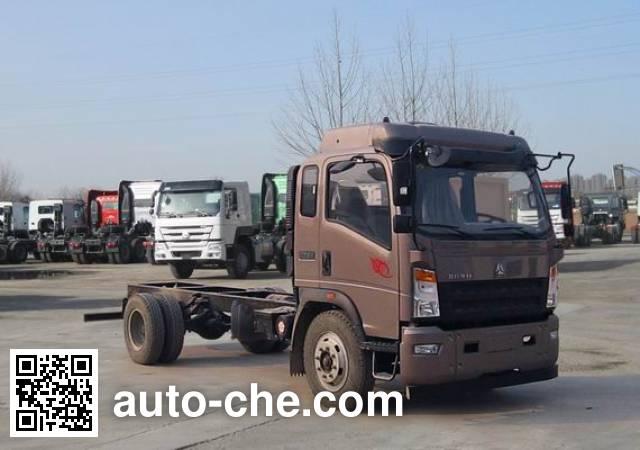 豪沃牌ZZ1107G451CE1载货汽车底盘