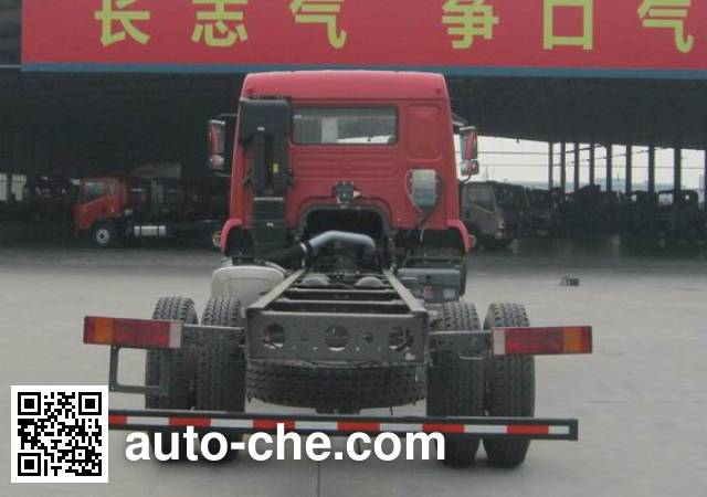斯达-斯太尔牌ZZ1121G521GE1载货汽车底盘