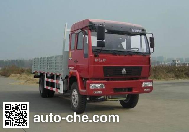 黄河牌ZZ1164G6015C1H载货汽车
