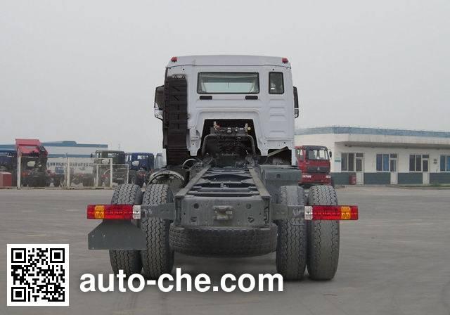 豪沃牌ZZ1167G501GE1L载货汽车底盘