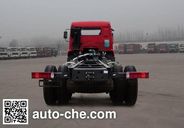 斯达-斯太尔牌ZZ1201M56CGE1L载货汽车底盘